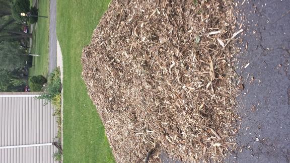 8 - mulch used