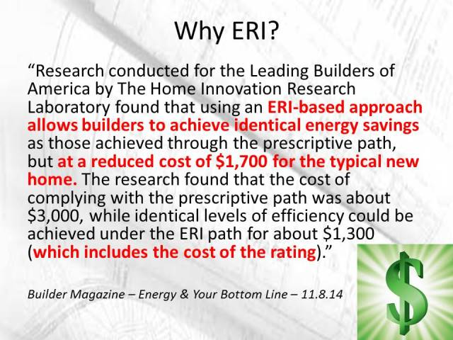 Why choose ERI?