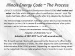 Illinois Energy Code Adoption Process