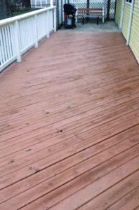 deck needs help