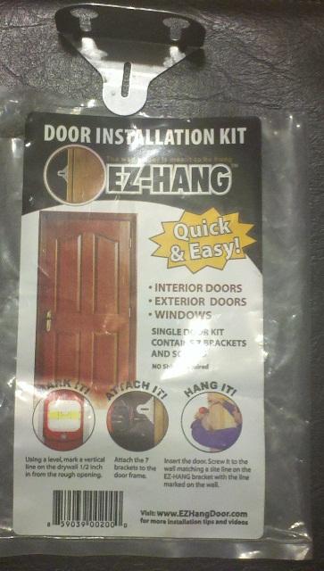 How to install a door in 5 minutes. Ez Hang Exterior Door. Home Design Ideas