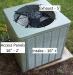 FAQ: Exterior HVAC units – Shading, Misting & other summertime questions