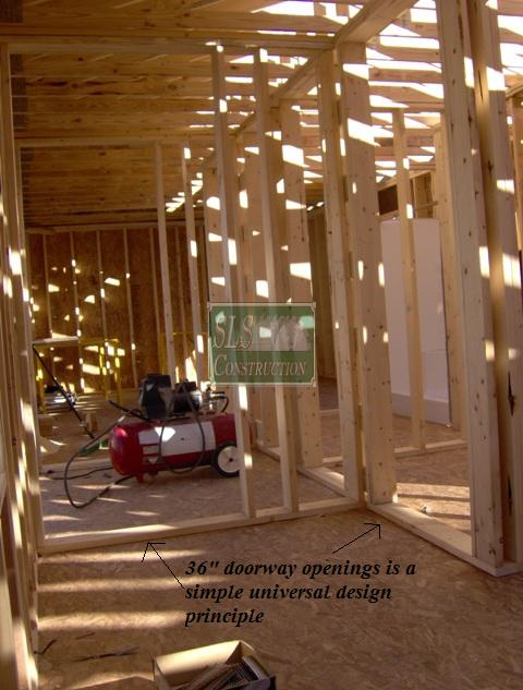 interior framing universal design