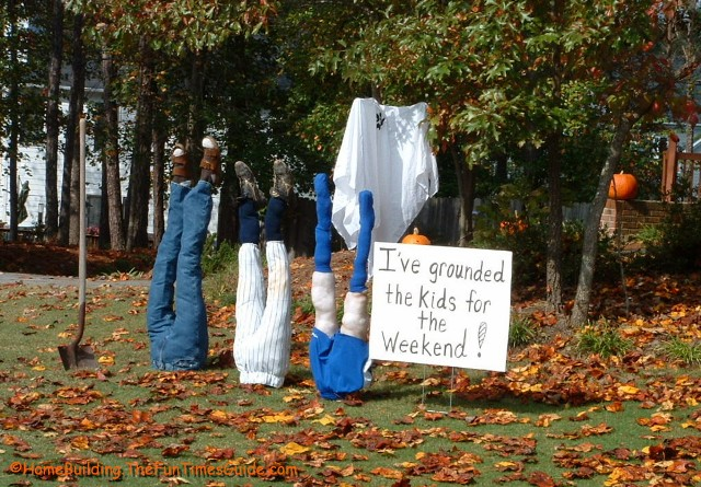 Funny Halloween Pic - Directions to make & credit below