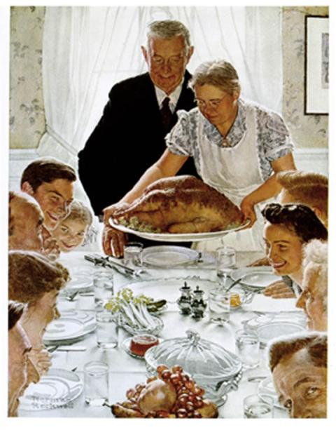 Ahh the good ole days of Norman Rockwell