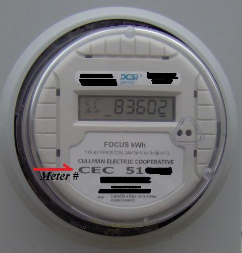 Smart Electric Meter Reading : Reading your electric meter