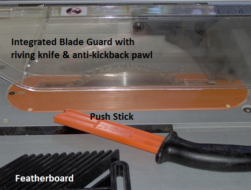 table saw safety guard