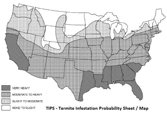 irc termite probablity sheet